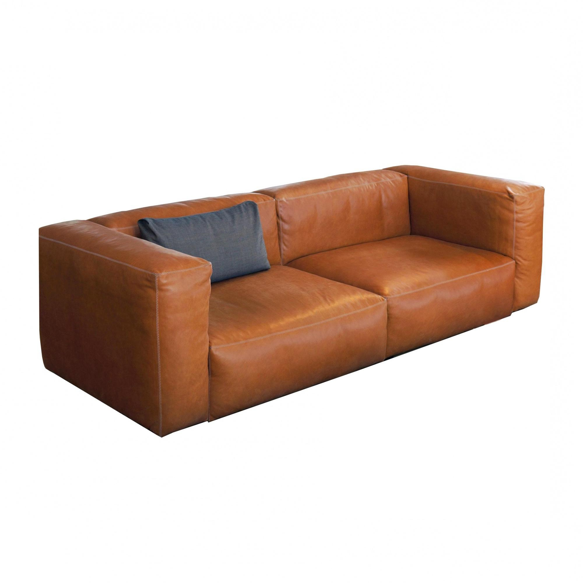 Mags Soft 2 5 Seater Sofa Leather Idc