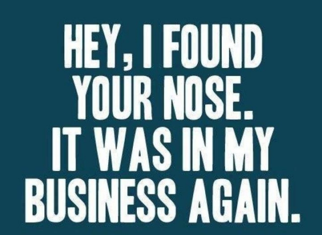 Am I My Brother\u0027s Keeper? Mind Your Own Business! Idd Company - own business