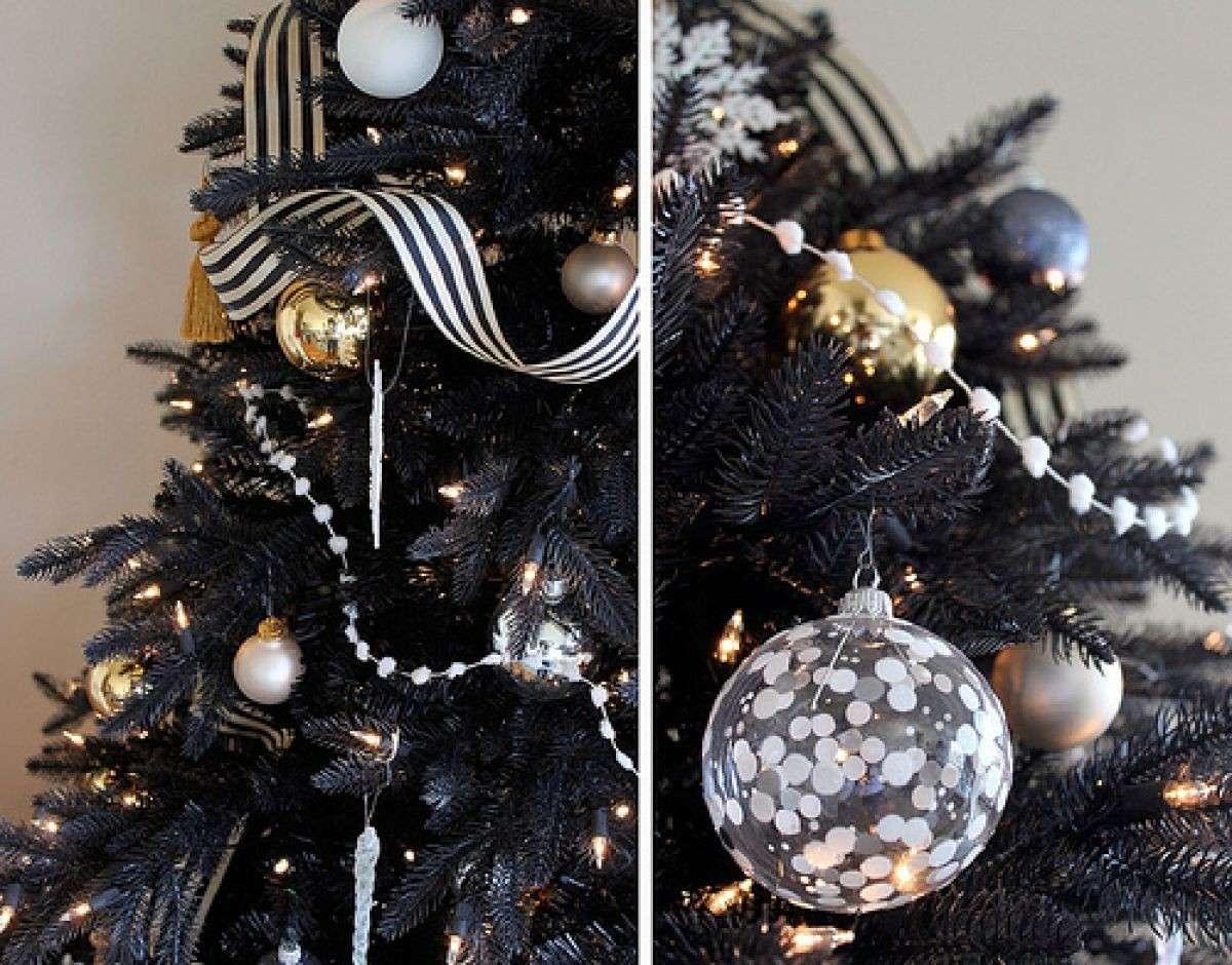 Albero Di Natale Nero.Decorazioni Oro E Nero Tendenze Natale E Addobbi Natalizi 2019