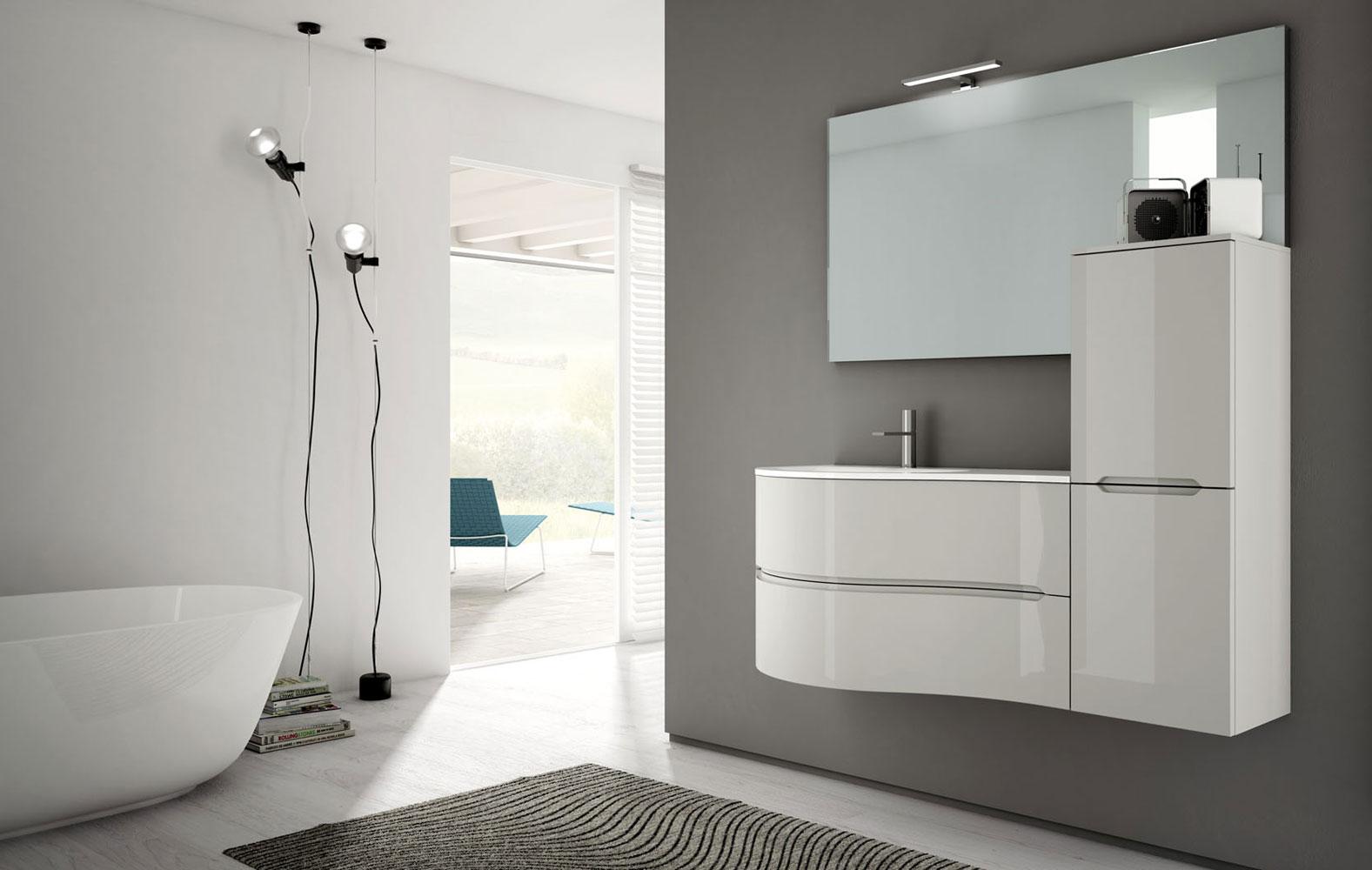 Bagno Marrone Moderno : Mobile bagno marrone costo mobile bagno