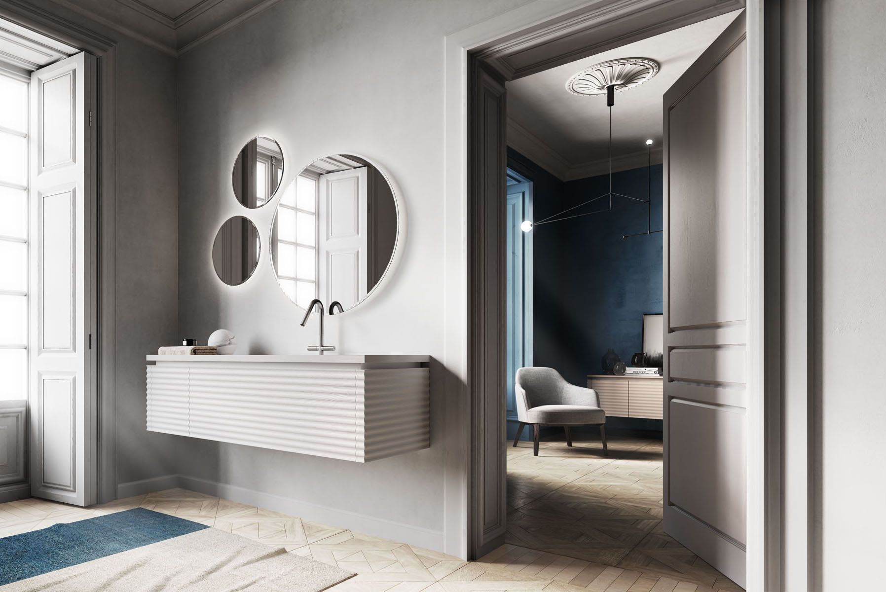 Bagno Design Guatemala Dolcevita Furniture For A Modern Sophisticated Bathroom Ideagroup