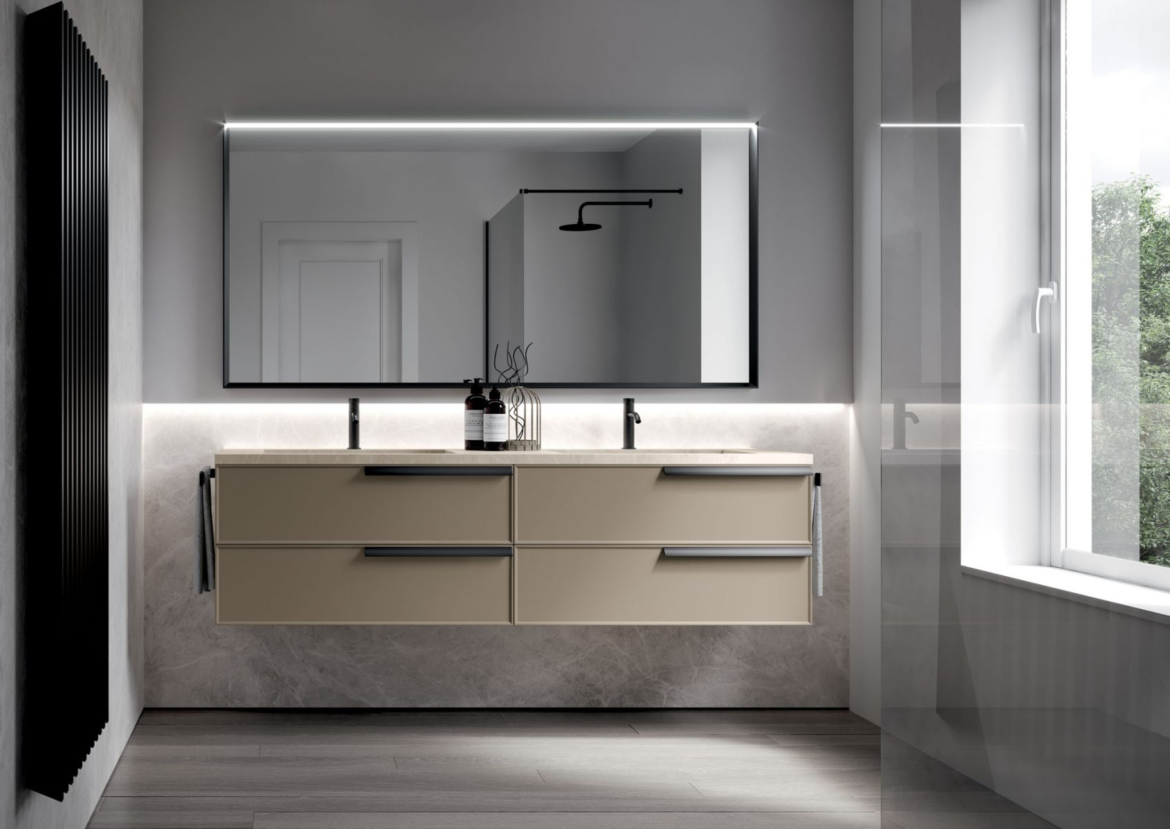 Bagno Design Guatemala Form Floor Standing And Suspended Bathroom Cabinets Ideagroup