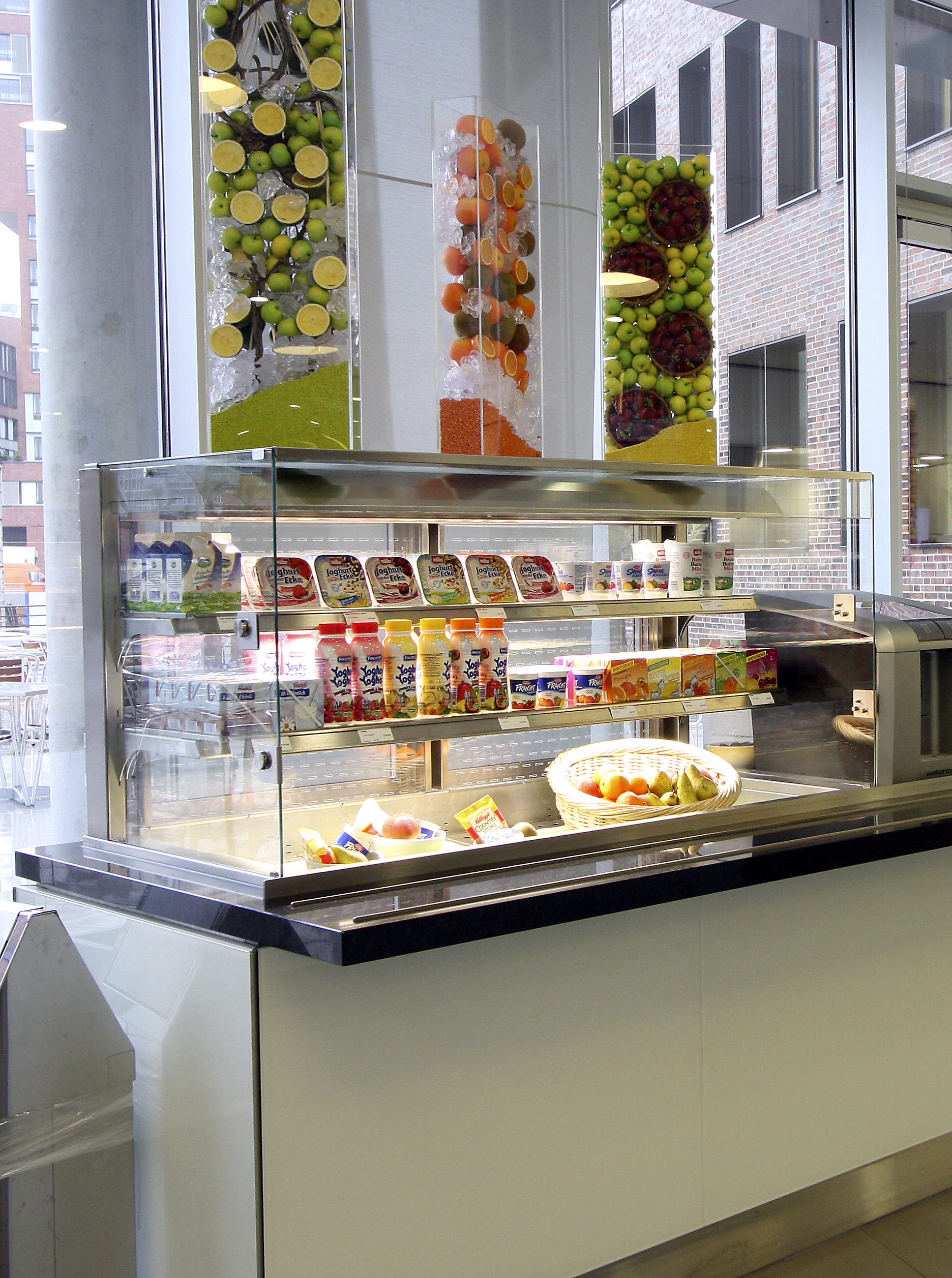 Vitrine Ecke Foodstation Cold Flaps Concept Solutions For Micro Areas