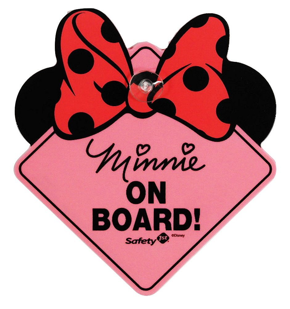 Infant Toddler Mirror Safety 1st Minnie On Board Sign Ideal Baby
