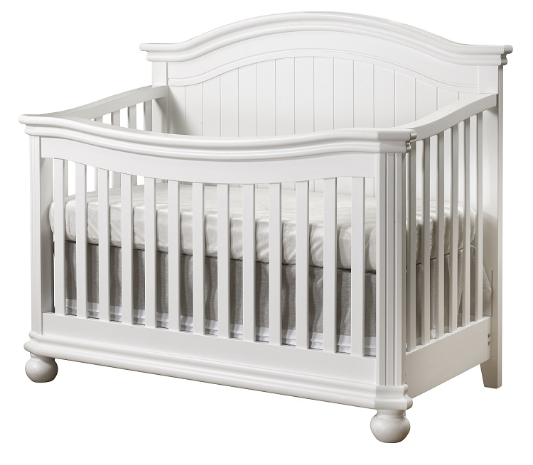 Infant Toddler Mirror Sorelle Finley 4 In 1 Crib White Ideal Baby