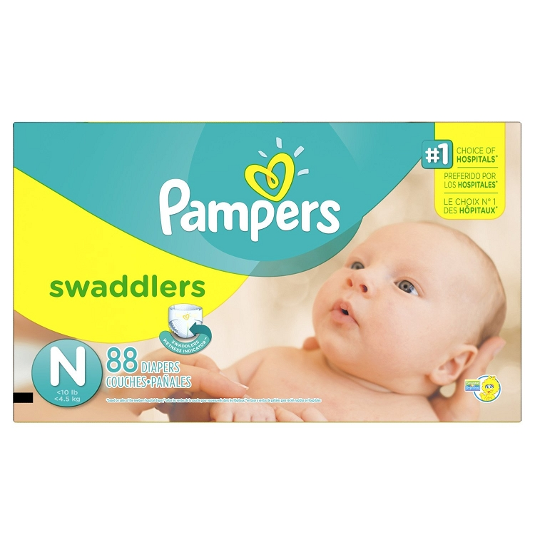 Newborn Bouncer Seat Pampers Swaddlers Diapers Newborn 88 Count Ideal Baby