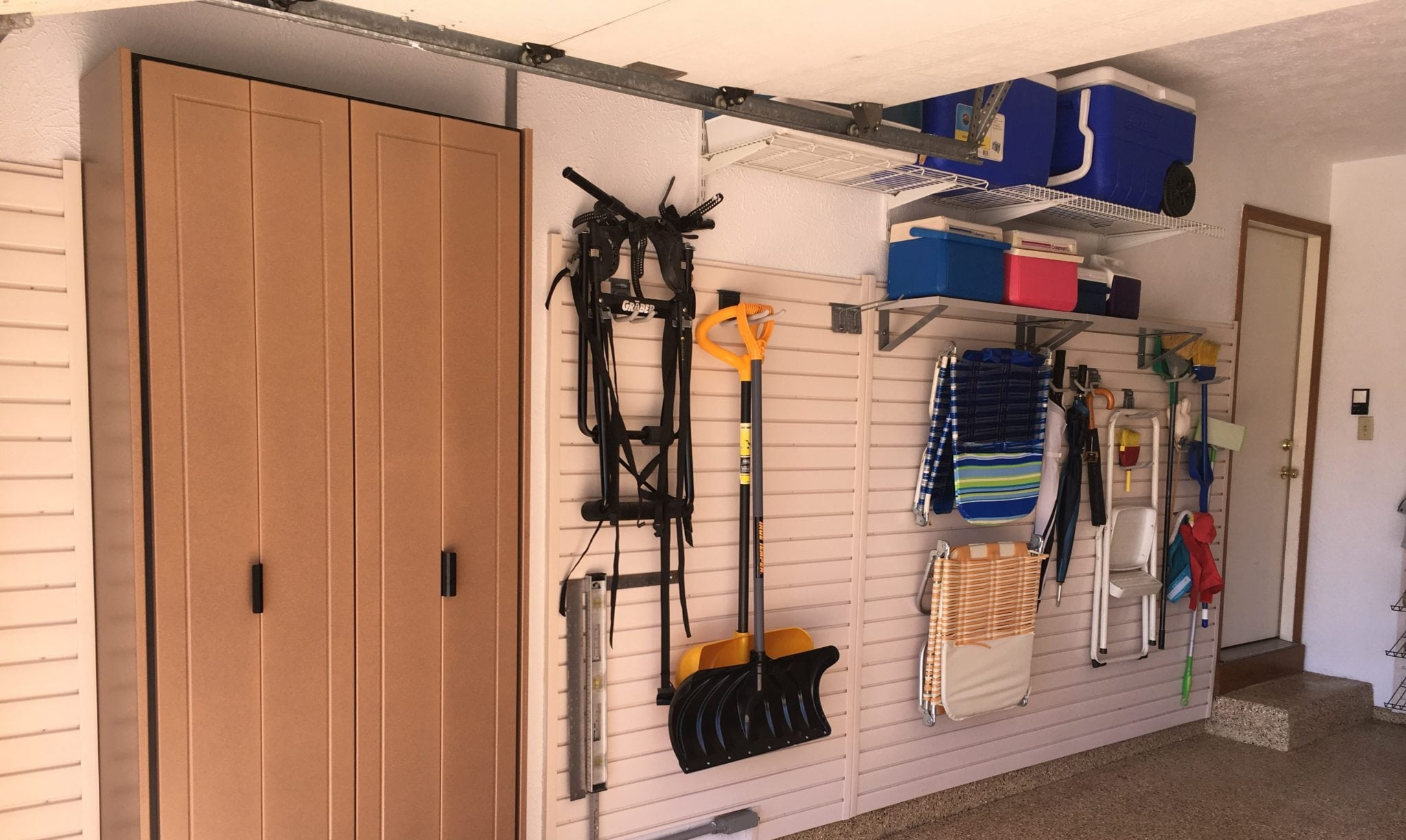 Garage Cabinets By George Overhead Storage Ideal Garage Solutions