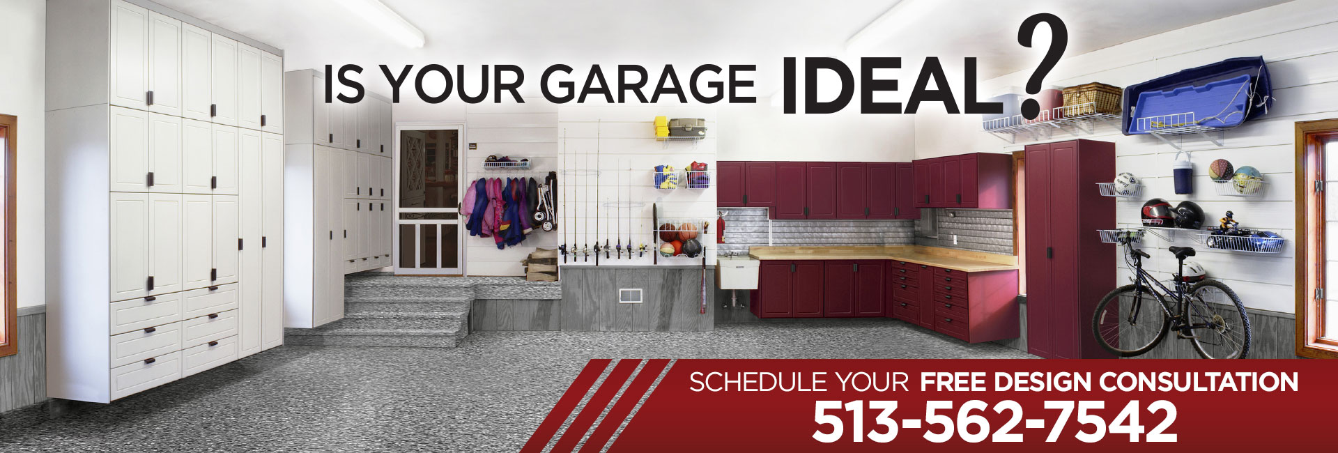 Garage Cabinets By George Home Ideal Garage Solutions