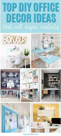 Top DIY Office Decor Ideas That Will Inspire Creativity ...