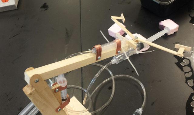 Engineering Mechanical Arm Syringe : Syringe hydraulic arm ideas inspire