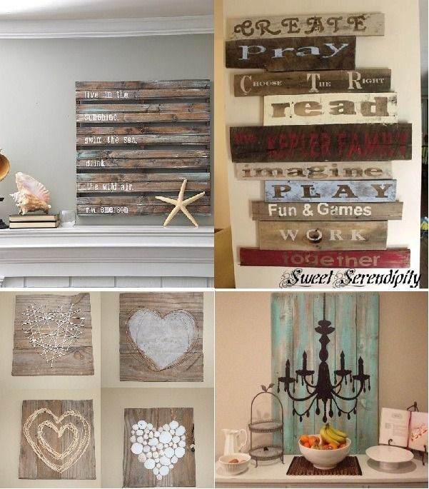 Maderas Para Decorar Paredes Ideas Para Decorar Paredes → +78 Tips Sorprendentes