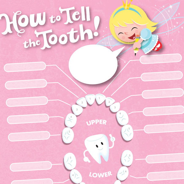 Tooth Fairy Printables Lost Tooth Chart Hallmark Ideas  Inspiration