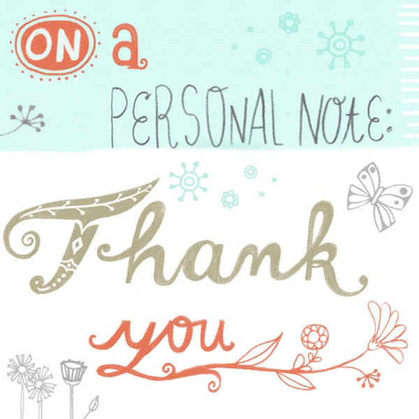 How to Write a Thank You Note Hallmark Ideas  Inspiration - personal thank you letter