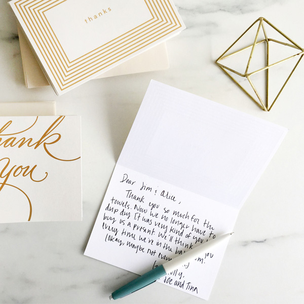 Wedding Thank-You Messages What to Write in a Wedding Thank-You - Thank You Note