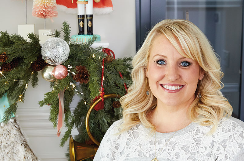 How to decorate a mantel for Christmas Hallmark Ideas  Inspiration