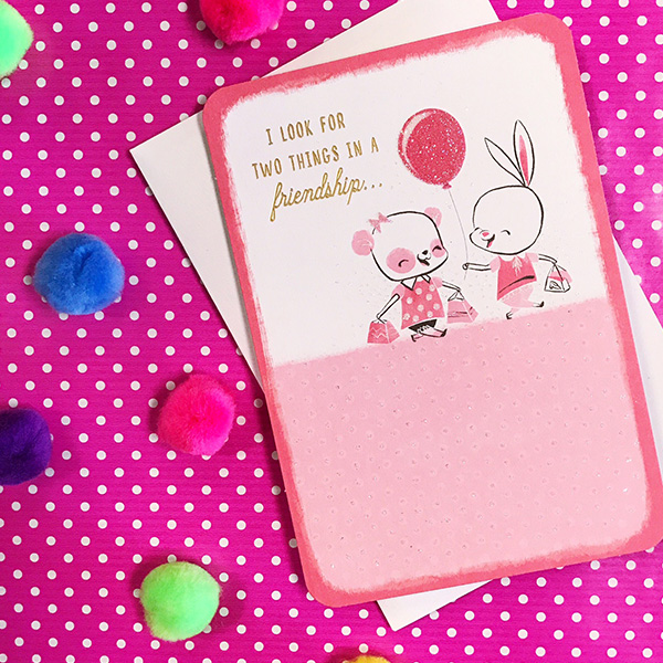 Friendship Messages What to Write in a Friendship Card Hallmark
