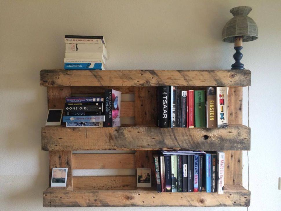 30 Diy Pallet Bookshelf Plans Instructions