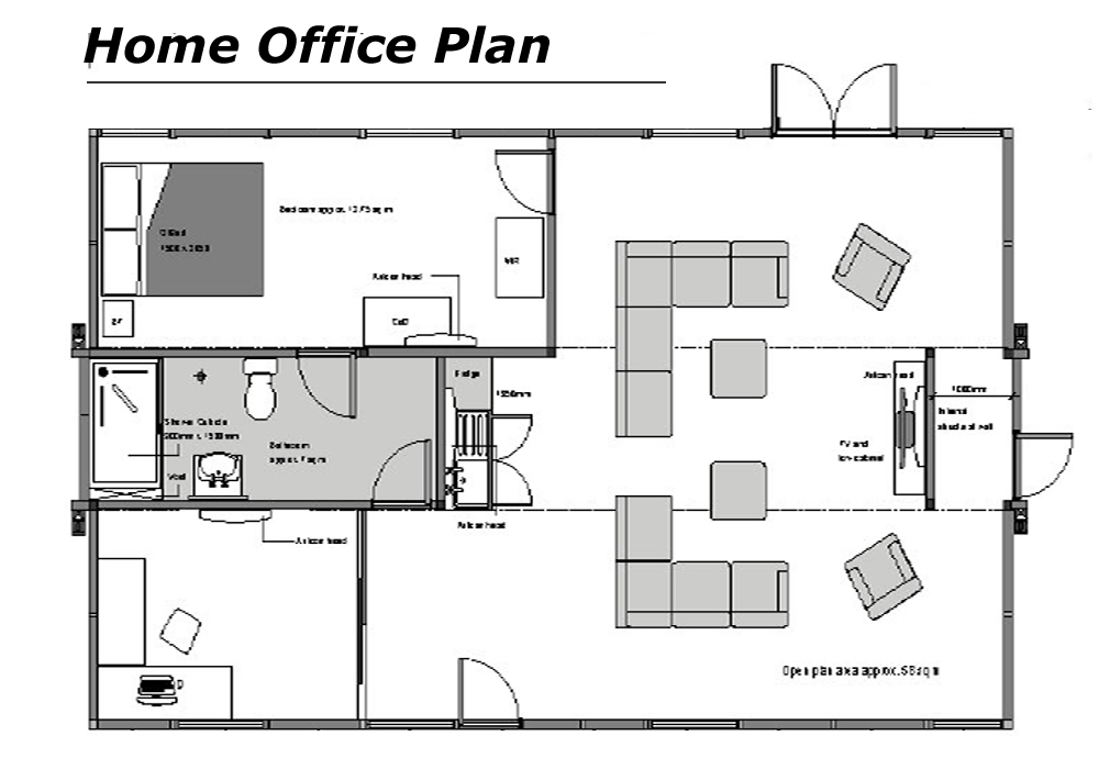 modern home office floor plans comfortable home office ideas home floor plans home interior design