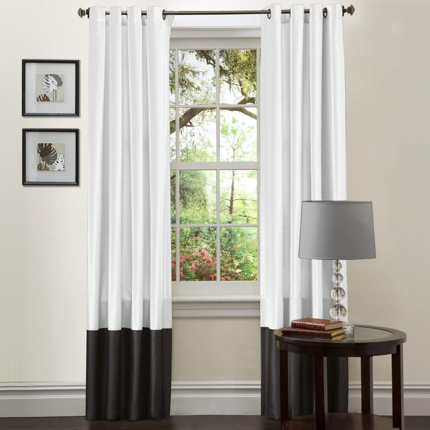 Simply Amazing Black And White Curtains To Decorate Your Home Interior Ideas 4 Homes