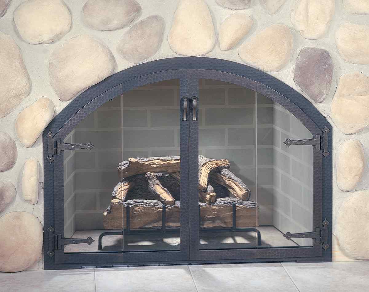 Modern Fireplace Screen Beautiful Custom Fireplace Doors For Your Interior Space