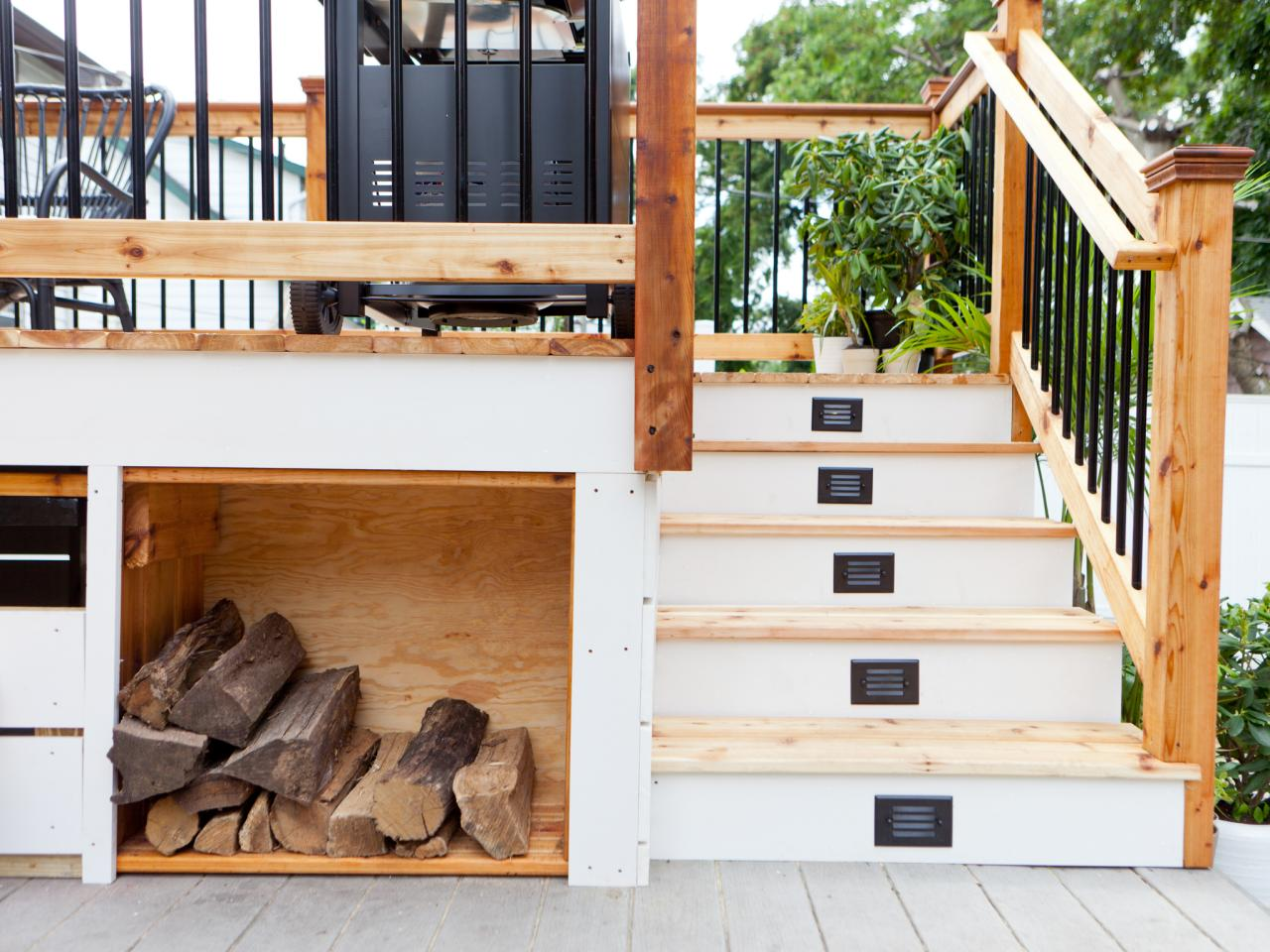 Seating With Storage Underneath Creative Deck Storage Ideas Integrating Storage To Your Outdoor