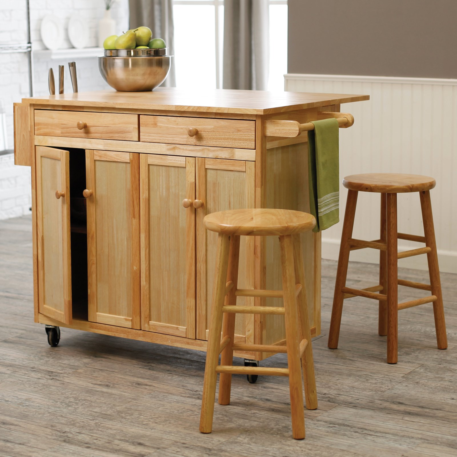 Ikea Kitchen Island With Stools Practical Movable Island Ikea Designs For Your Small Kitchen
