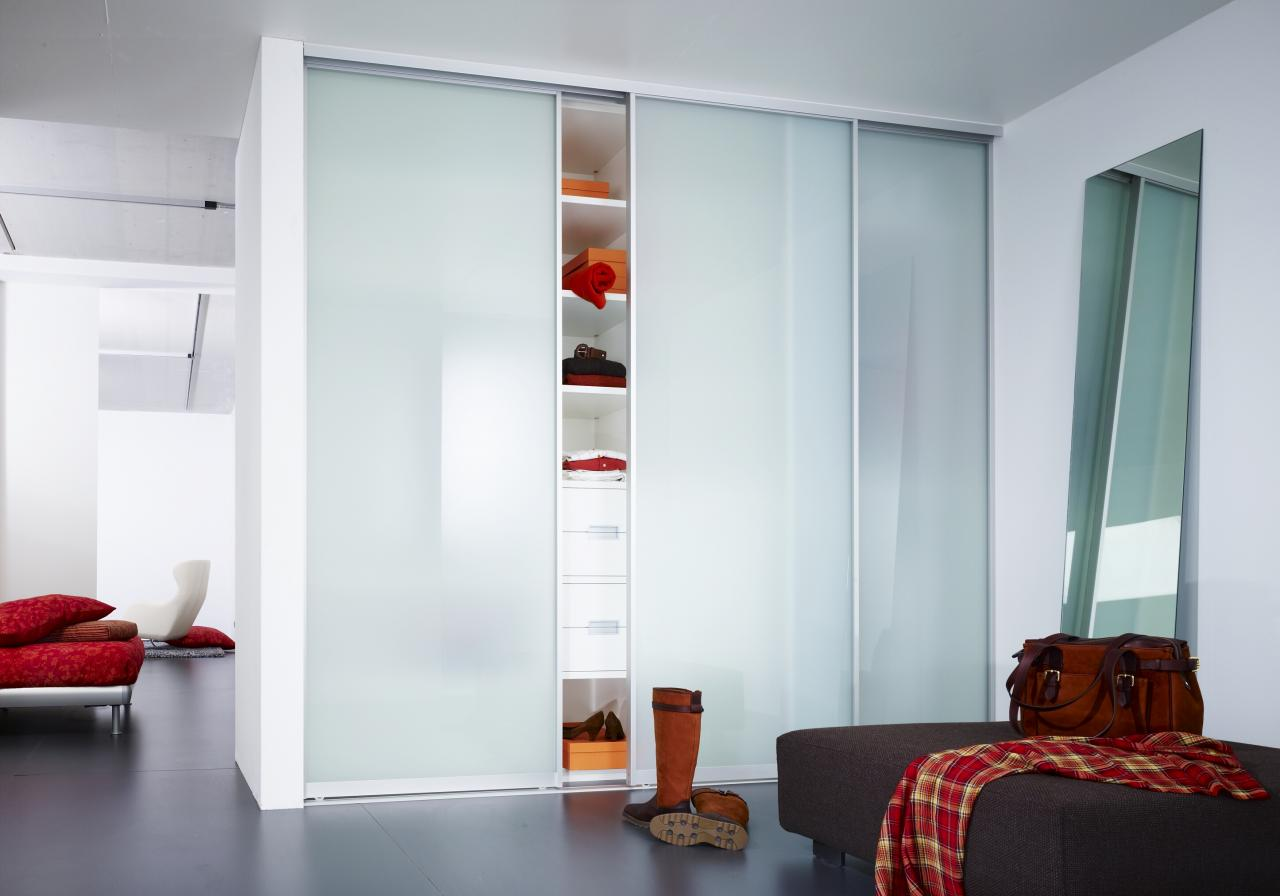Frameless Mirror Sliding Closet Doors Stylish Sliding Closet Doors With Mirror Bringing Charms