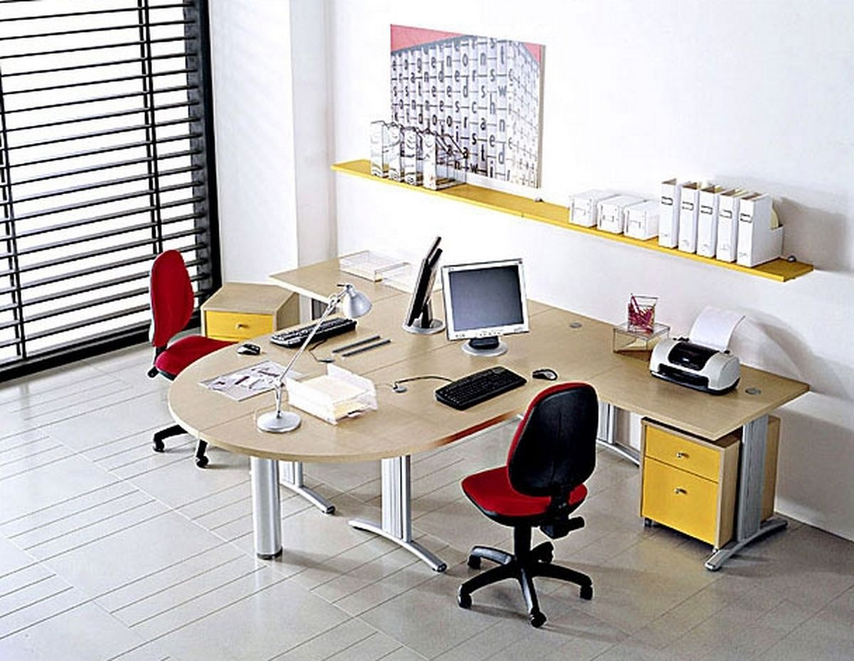 Office Furniture Design Ideas Creative Small Office Furniture Ideas As Mood Booster
