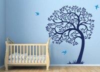 Baby Boy Nursery Wall Decal Ideas   Baby Room Ideas