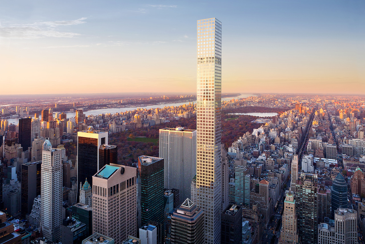 Tallest Residential Building Nyc 432 Park Avenue New York Rafael Viñoly Ideasgn