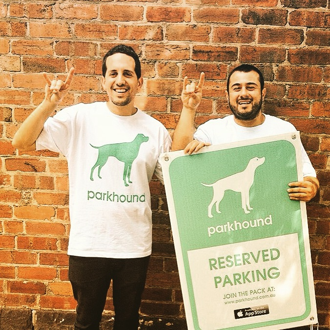 Michael and Robert - founders of Parkhound