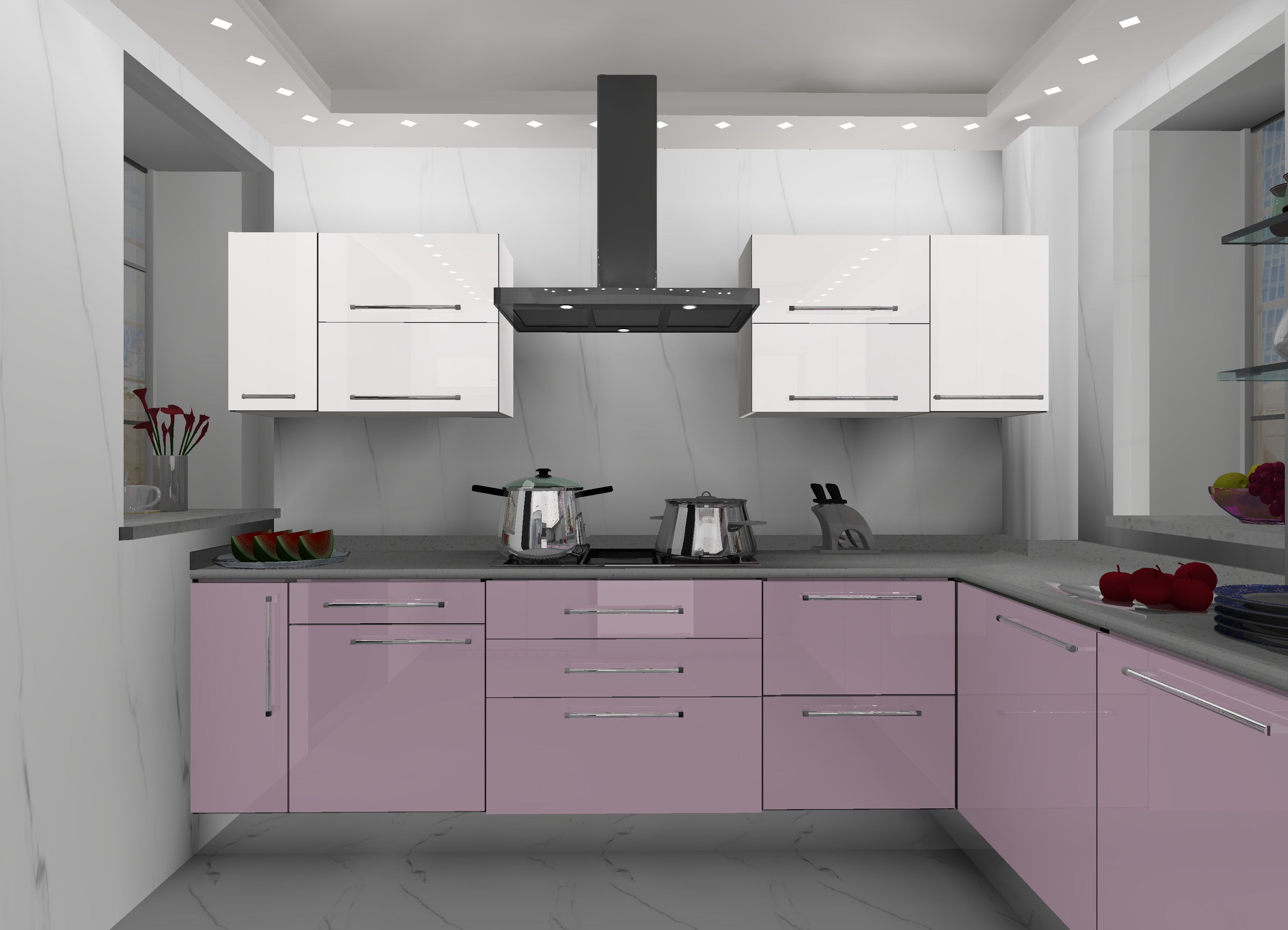 Modular Kitchen Design For L Shape L Shaped Kitchens Modular Kitchens Ideas Kitchens