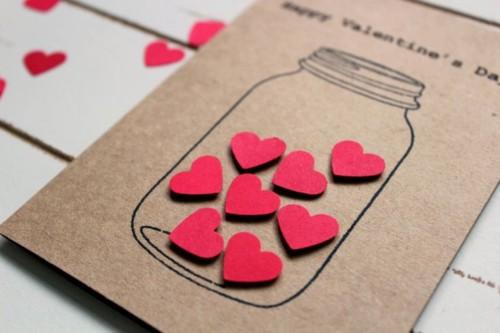 TARJETAS DE AMOR y artesanías románticas para SAN VALENTIN