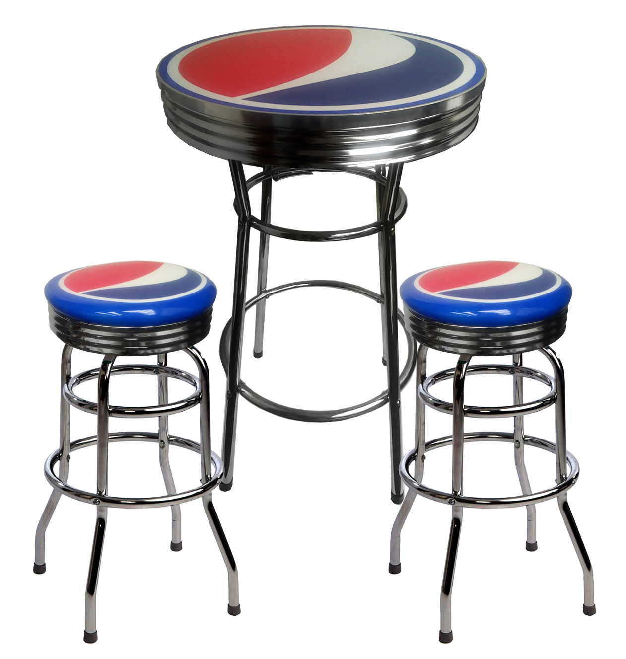 Table And Bar Stools Pepsi Bar Table And 2 Stools