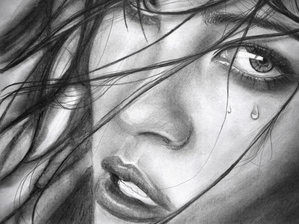 Afghan Girl Eyes Wallpaper 10 Beautiful Girl Drawings For Inspiration 2017
