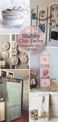 40+ Shabby Chic Decor Ideas and DIY Tutorials 2017