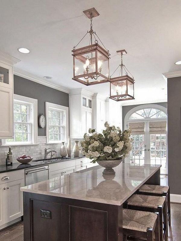 30+ Awesome Kitchen Lighting Ideas 2017 - modern kitchen lighting ideas