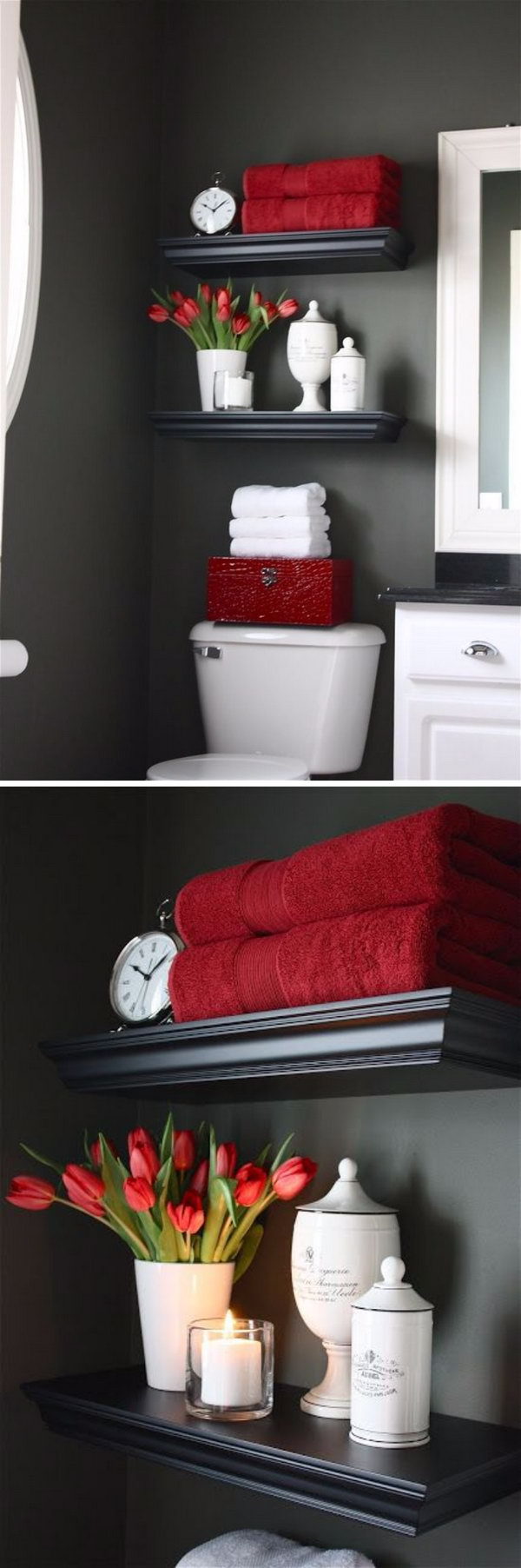 Houzz Bathroom Over The Toilet Storage Ideas For Extra Space 2017