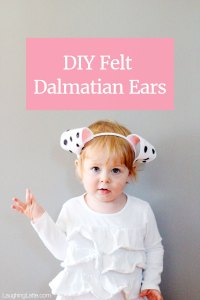 Diy Dalmatian Costume Ears