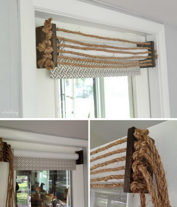 Barn Door Frame 35+ Awesome Diy Window Treatment Ideas And Tutorials 2017