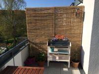 Balkon Sichtschutz aus Bambus selber bauen
