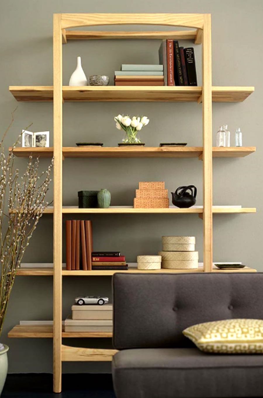 Wand Bücherregal Modernes Regal Als Deko-idee | Ideen.top