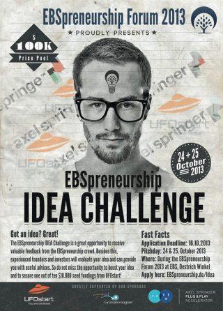 EBSPreneurship Idea Challenge 2013
