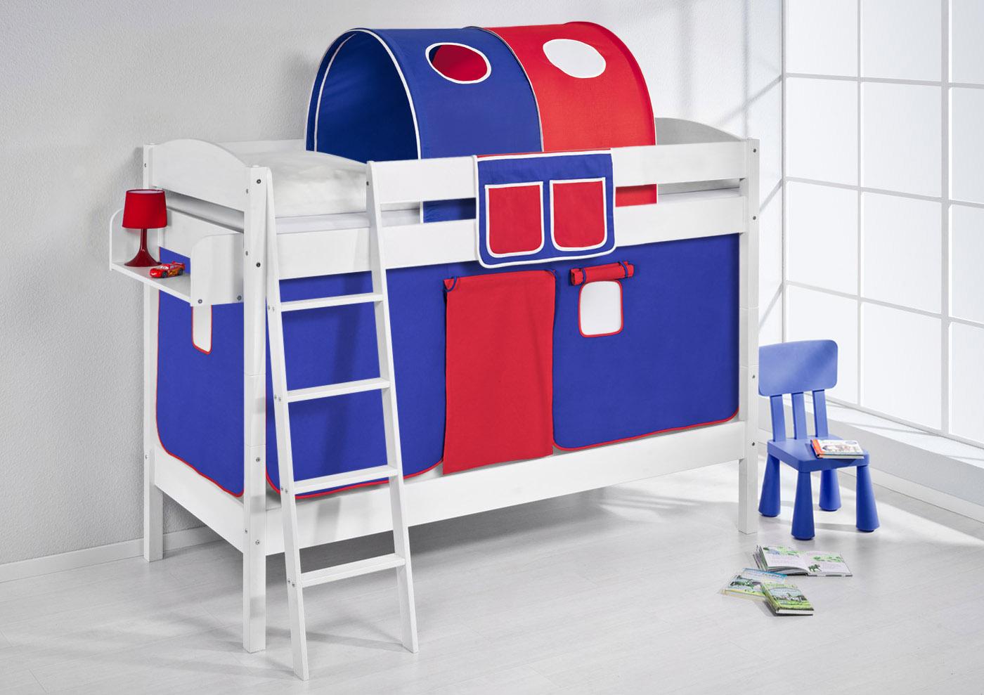 Etagenbett Auto : Noa and nani etagenbett mit bagger zelt und tunnel reines weiß