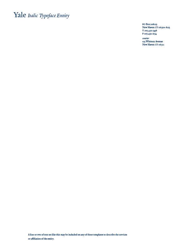 example letterhead template