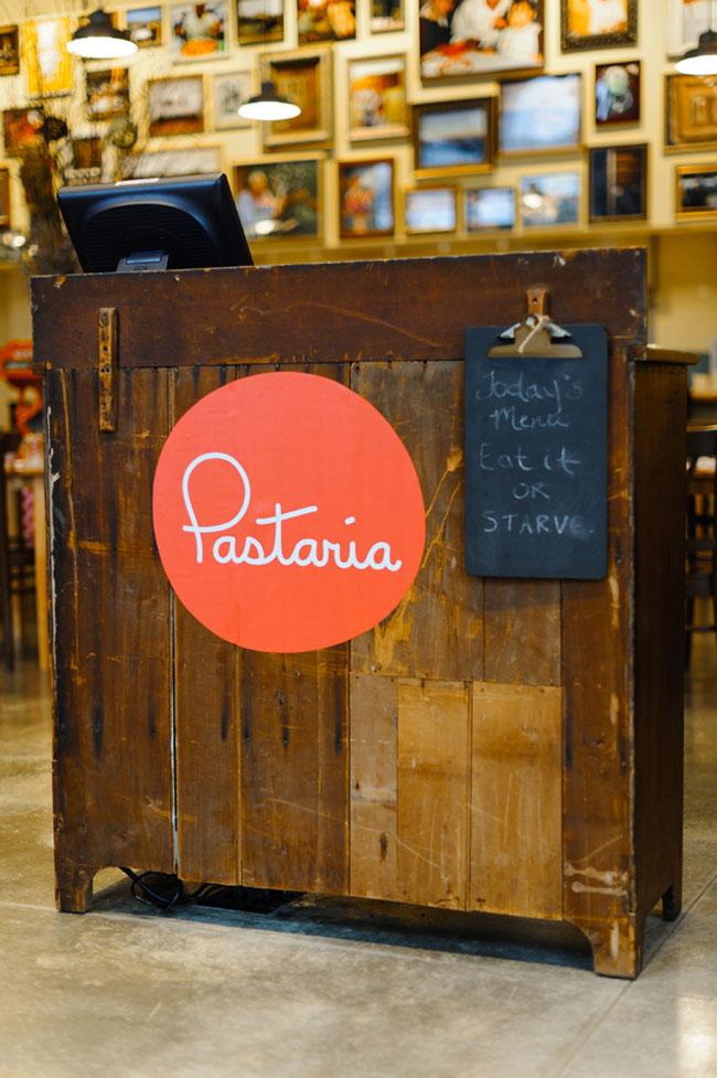 Pastaria Identity Designed