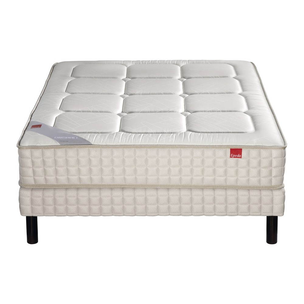 Matelas Sommier Epeda Ensemble Epeda Yucca Sommier Confort Medium