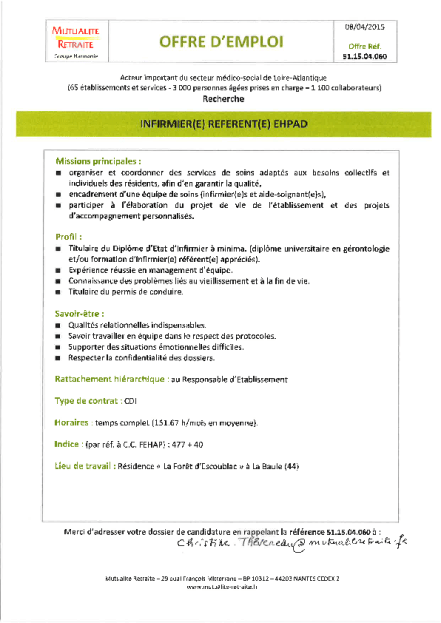 cv lettre de motivation association paris projet