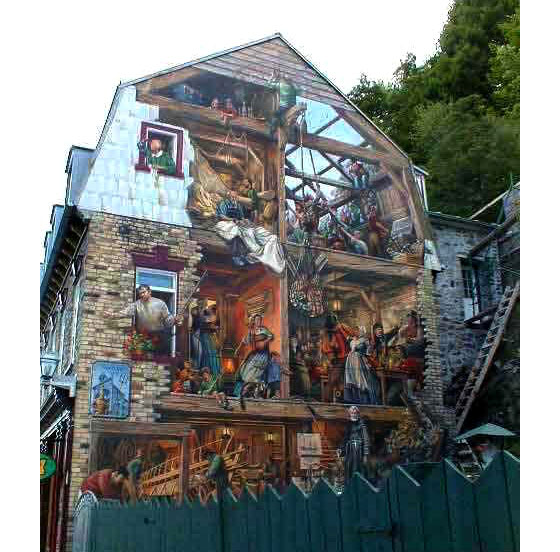 Refurbished Fireplaces Murals On Buildings From Around The World | Idesignarch