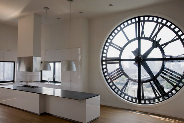 Prefab Homes With Basement Clock Tower Penthouse In Brooklyn | Idesignarch | Interior
